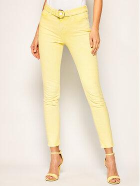 Guess Guess Skinny Fit džíny W02A29 D3XX2 Žlutá Skinny Fit