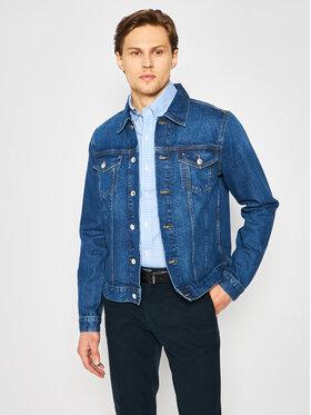 TOMMY HILFIGER TOMMY HILFIGER Giacca di jeans Trucker Type3 MW0MW13602 Blu scuro Regular Fit