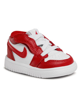 Nike Nike Обувки Jordan 1 Low Alt (Td) CI3436 611 Бял