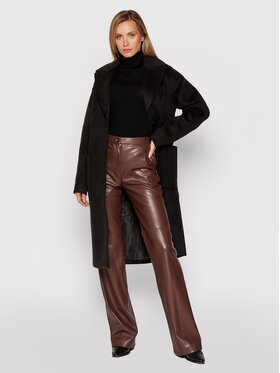 Calvin Klein Jeans Calvin Klein Jeans Зимно палто J20J216874 Черен Loose Fit