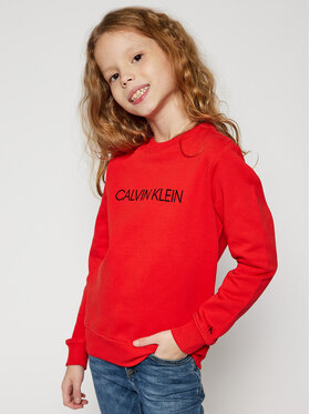 Calvin Klein Jeans Calvin Klein Jeans Pulóver IU0IU00162 Narancssárga Regular Fit