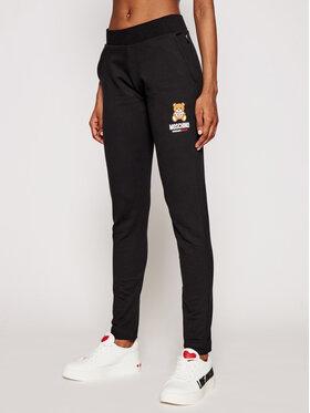 MOSCHINO Underwear & Swim MOSCHINO Underwear & Swim Spodnie dresowe 4329 9020 Czarny Slim Fit