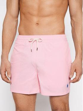 Polo Ralph Lauren Polo Ralph Lauren Plavecké šortky Traveler 710837404003 Ružová Slim Fit