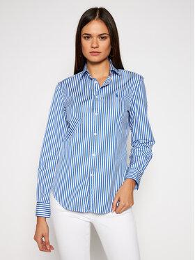 Polo Ralph Lauren Polo Ralph Lauren Koszula Lsl 211784161011 Niebieski Classic Fit