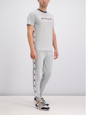 Tommy Sport Tommy Sport T-shirt S20S200108 Gris Regular Fit