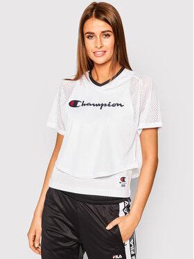 Champion Champion T-Shirt 112903 Bílá Regular Fit