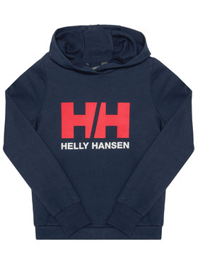 Helly Hansen Helly Hansen Bluza Logo 41707 Granatowy Regular Fit