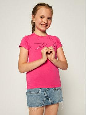 KARL LAGERFELD KARL LAGERFELD T-shirt Z15254 Rose Regular Fit