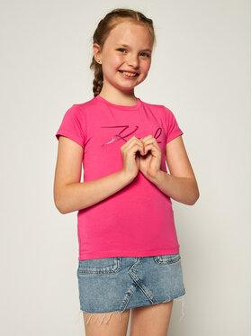 KARL LAGERFELD KARL LAGERFELD T-Shirt Z15254 Różowy Regular Fit
