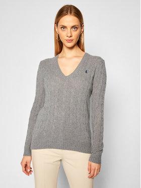 Polo Ralph Lauren Polo Ralph Lauren Svetr Kimberly Wool/Cashmere 211508656016 Šedá Regular Fit