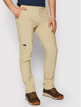 The North Face The North Face Outdoorové kalhoty Paramount Active NF0A3SO9 Béžová Slim Fit