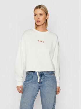 Roxy Roxy Sweatshirt Days Go ERJFT04482 Blanc Regular Fit