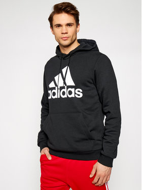 adidas adidas Суитшърт Bl Fl Hd GK9220 Черен Regular Fit