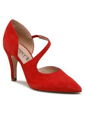 Caprice Caprice Pantofi cu toc subțire 9-24400-26 Roșu