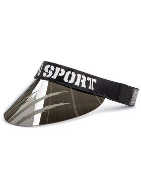 Plein Sport Plein Sport Snapelis Visor Hat 000 MAC0396 STE003N Sidabrinė
