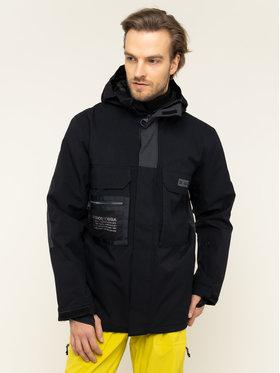 DC Snowboardová bunda Defiant EDYTJ03088 Čierna Regular Fit
