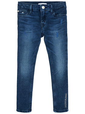 Calvin Klein Jeans Calvin Klein Jeans Jeansy IG0IG00654 Granatowy Skinny Fit