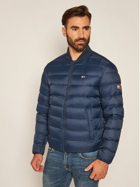 Tommy Jeans Tommy Jeans Geacă din puf Tjm Light Down Bomber DM0DM08479 Bleumarin Regular Fit