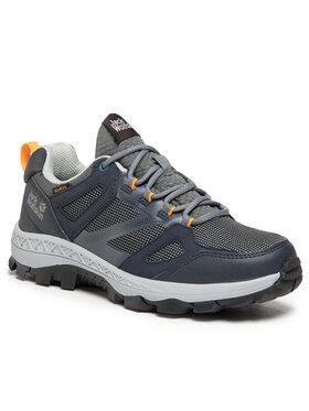 Jack Wolfskin Jack Wolfskin Chaussures de trekking Downhill Texapore Low W 4044151 Gris