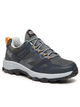 Jack Wolfskin Jack Wolfskin Παπούτσια πεζοπορίας Downhill Texapore Low W 4044151 Γκρι