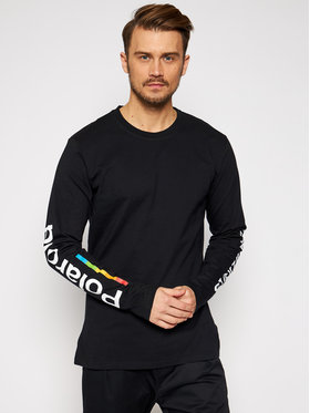 Local Heroes Local Heroes Longsleeve Classic Polaroid LHPLT0012 Czarny Regular Fit