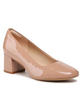 Clarks Clarks Обувки Sheer Rose 2 261598464 Бежов