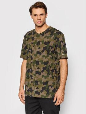 Calvin Klein Underwear Calvin Klein Underwear T-Shirt 000NM2192E Zielony Regular Fit