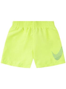 Nike Nike Szorty kąpielowe Mash Breaker NESS9651 Żółty Regular Fit