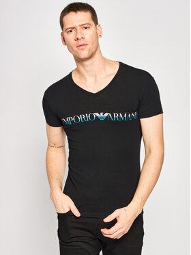 Emporio Armani Underwear Emporio Armani Underwear T-Shirt 110810 0P516 00020 Schwarz Regular Fit