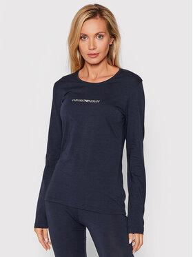 Emporio Armani Underwear Emporio Armani Underwear Bluză 163229 1A227 00135 Bleumarin Slim Fit