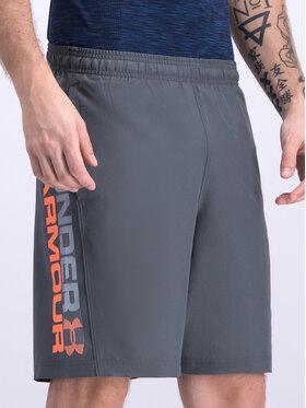 Under Armour Under Armour Sportiniai šortai UA Woven Graphic Wordmark 1320203 Pilka Regular Fit