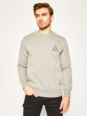 HUF HUF Sweatshirt Essentials TT Crew PF00101 Grau Regular Fit