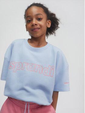 Sprandi Sprandi Sweatshirt SS21-TSG002 Blau Relaxed Fit