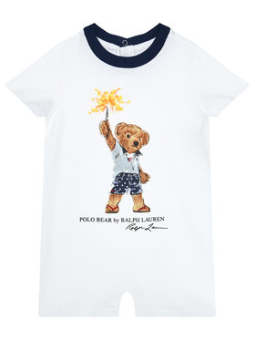 Polo Ralph Lauren Polo Ralph Lauren Overall Tee Shortall 320787315001 Alb
