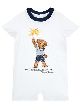 Polo Ralph Lauren Polo Ralph Lauren Φορμάκι Tee Shortall 320787315001 Λευκό