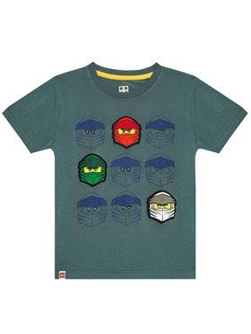 LEGO Wear LEGO Wear T-shirt 12010022 Zelena Regular Fit