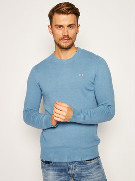Tommy Jeans Tommy Jeans Πουλόβερ Light Blend DM0DM08811 Μπλε Regular Fit