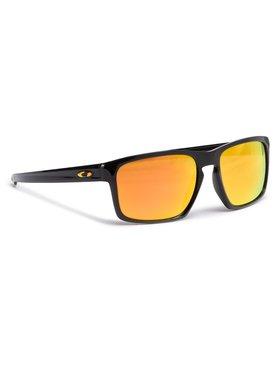 Oakley Oakley Slnečné okuliare Sliver OO9262-27 Čierna