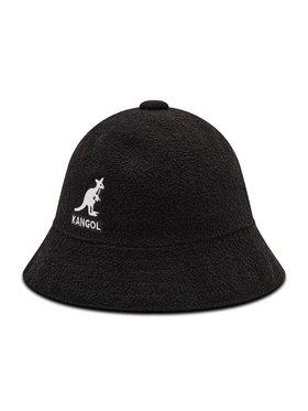 Kangol Kangol Skrybėlė Bucket Big Logo Casual K3407 Juoda