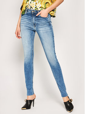 Tommy Jeans Tommy Jeans Skinny Fit Jeans Sylvia Ankle DW0DW08163 Dunkelblau Skinny Fit