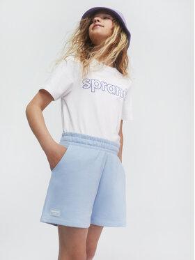 Sprandi Sprandi Pantaloni scurți sport SS21-SHG001 Albastru Regular Fit