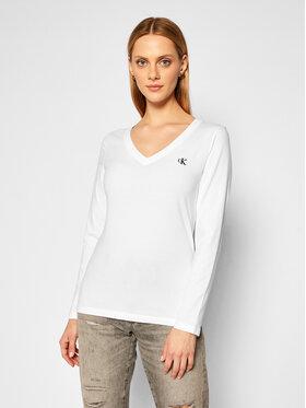 Calvin Klein Jeans Calvin Klein Jeans Bluse Essentials J20J214936 Weiß Regular Fit