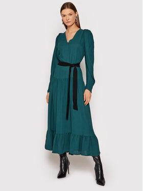 TWINSET TWINSET Každodenné šaty 212TT2294 Zelená Regular Fit
