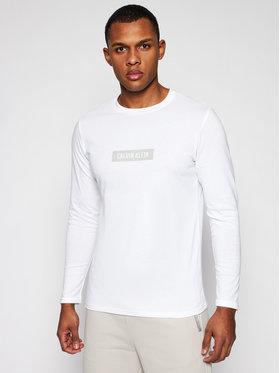 Calvin Klein Performance Calvin Klein Performance Тениска с дълъг ръкав 00GMS1K141 Бял Regular Fit