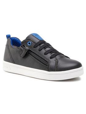 Geox Geox Sneakersy J Djrock B. D J925VD 08554 C9999 M Černá