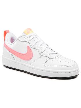 Nike Nike Topánky Court Borough Low 2 (Gs) BQ5448 108 Biela
