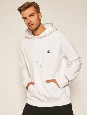 Calvin Klein Jeans Calvin Klein Jeans Mikina J30J315713 Biela Regular Fit