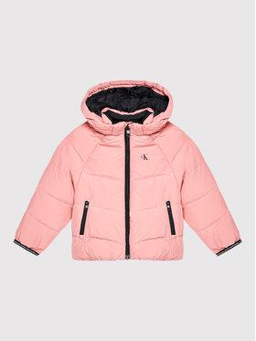 Calvin Klein Jeans Calvin Klein Jeans Pehelykabát IG0IG01040 Rózsaszín Relaxed Fit