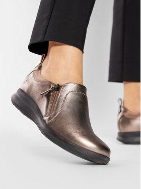 Clarks Clarks Κλειστά παπούτσια Un Adron Zip 261443204 Χρυσό
