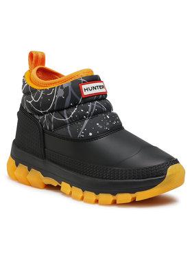 Hunter Hunter Bottes de neige W Org Insulated Snow Ankle Bt WFS2107WWU Noir